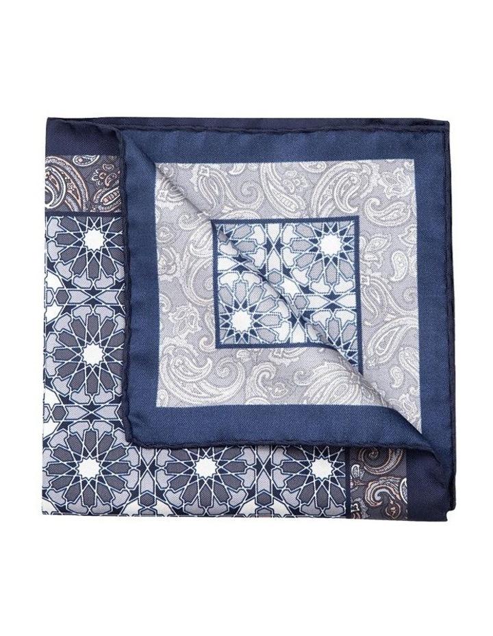 Grey Turco Pocket Square image 2