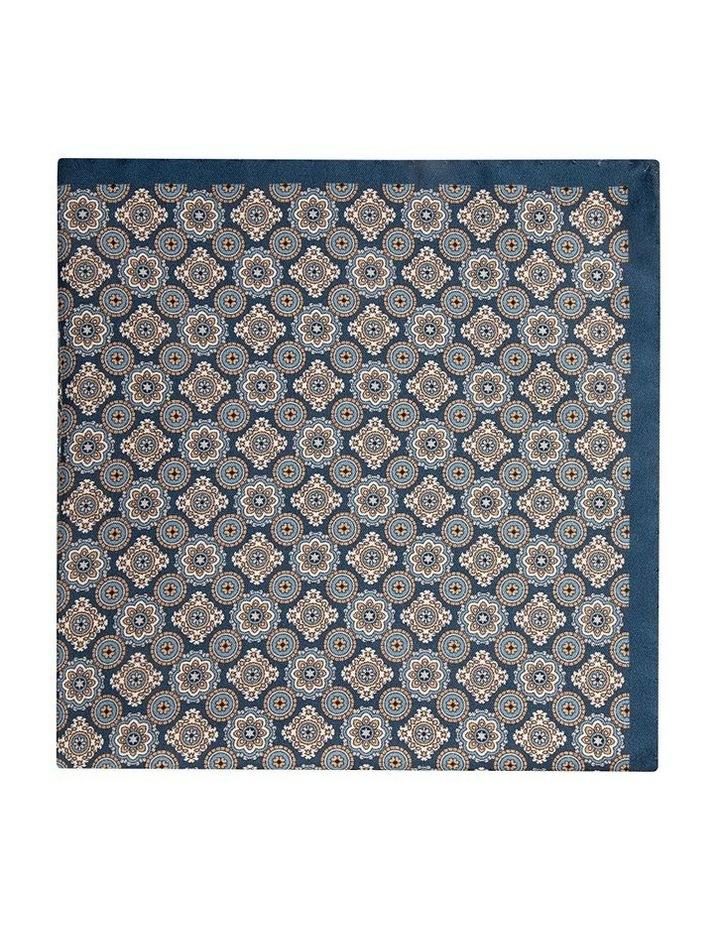 Taupe Foulard Pocket Square image 1