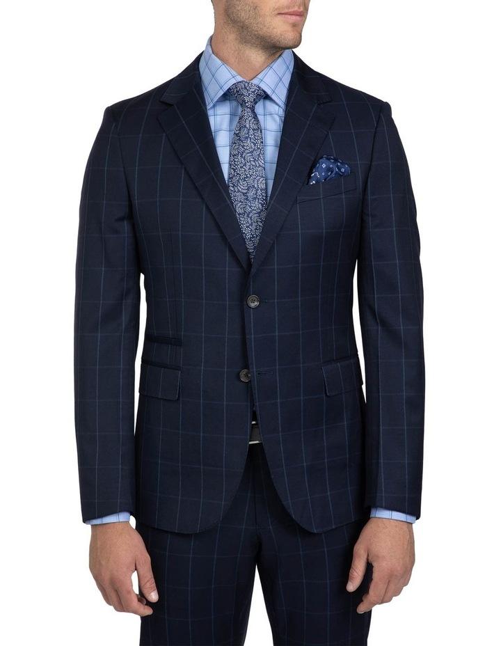Tailored Fit Navy Brad Dexter Suit image 2