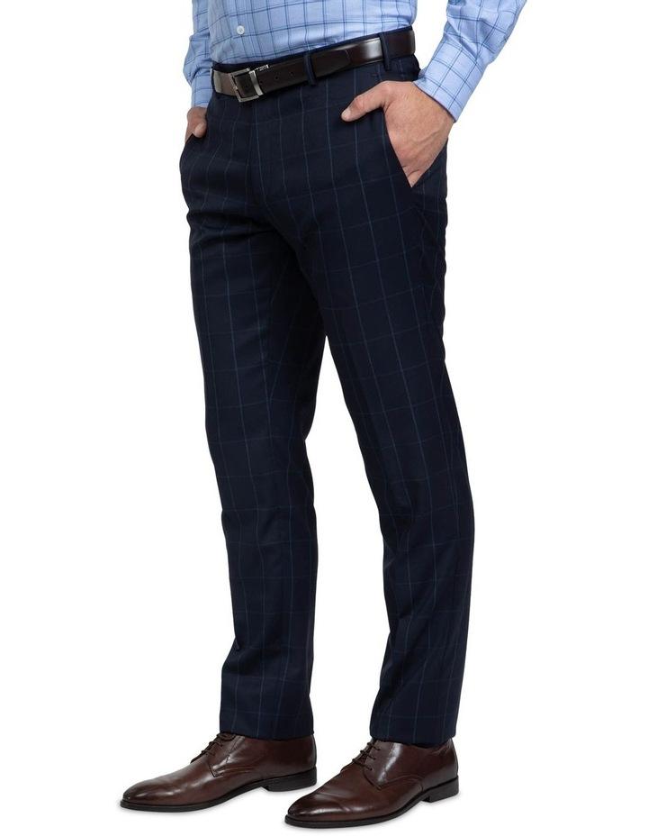 Tailored Fit Navy Brad Dexter Suit image 6