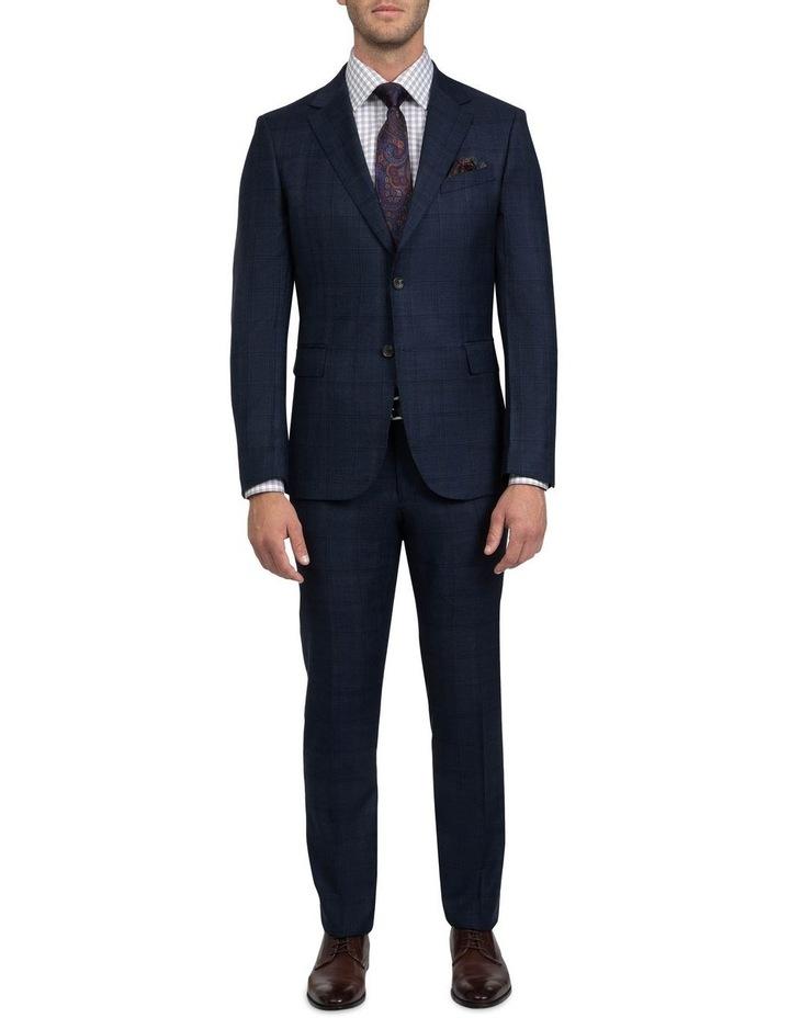Tailored Fit Navy Brad Dexter Suit image 1