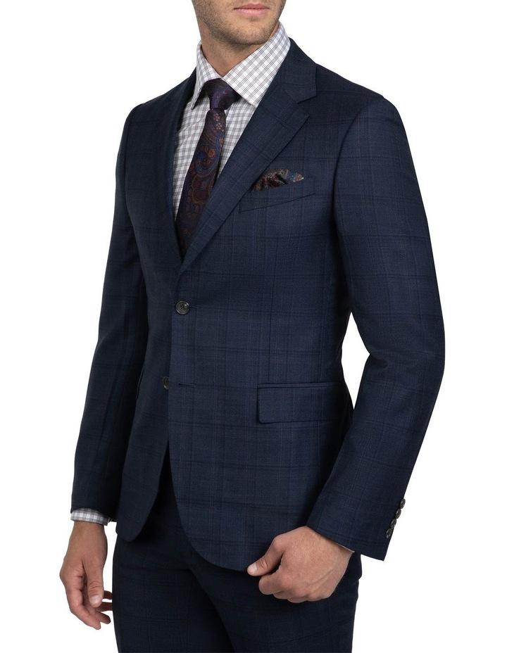 Tailored Fit Navy Brad Dexter Suit image 3