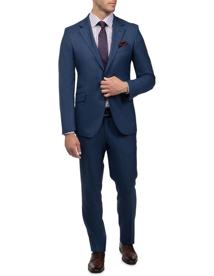 Tailored Fit Morgan Dexter Suit Blue FMH019 image 1