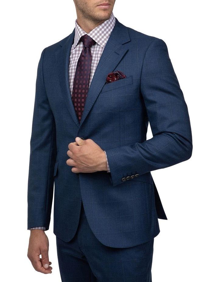 Tailored Fit Morgan Dexter Suit Blue FMH019 image 3