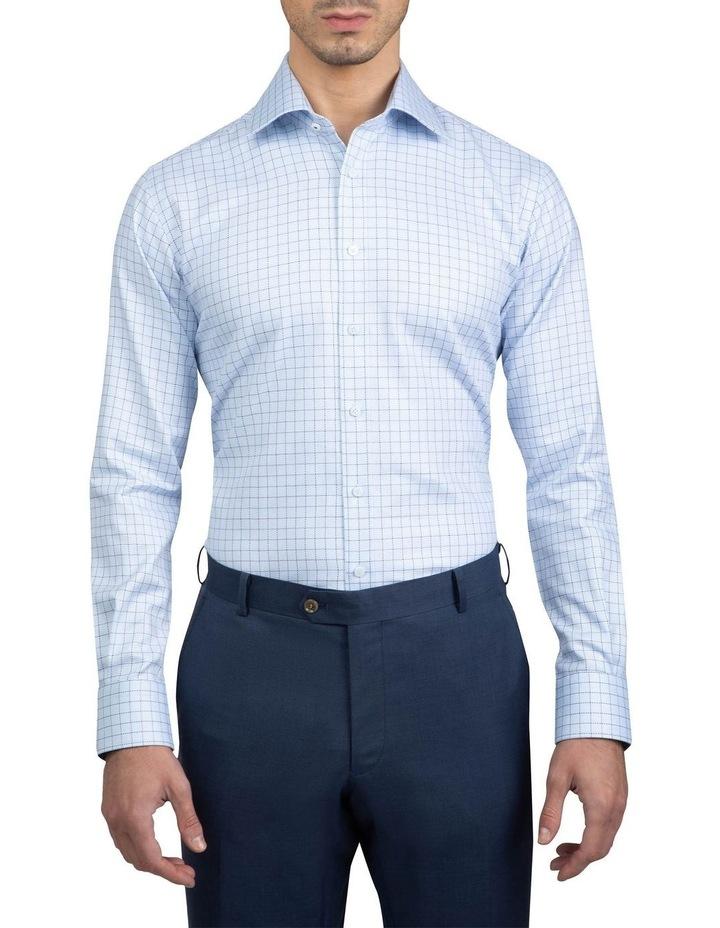 Blue Tailored Fit Giorgio Shirt image 1