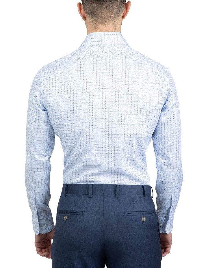 Blue Tailored Fit Giorgio Shirt image 3