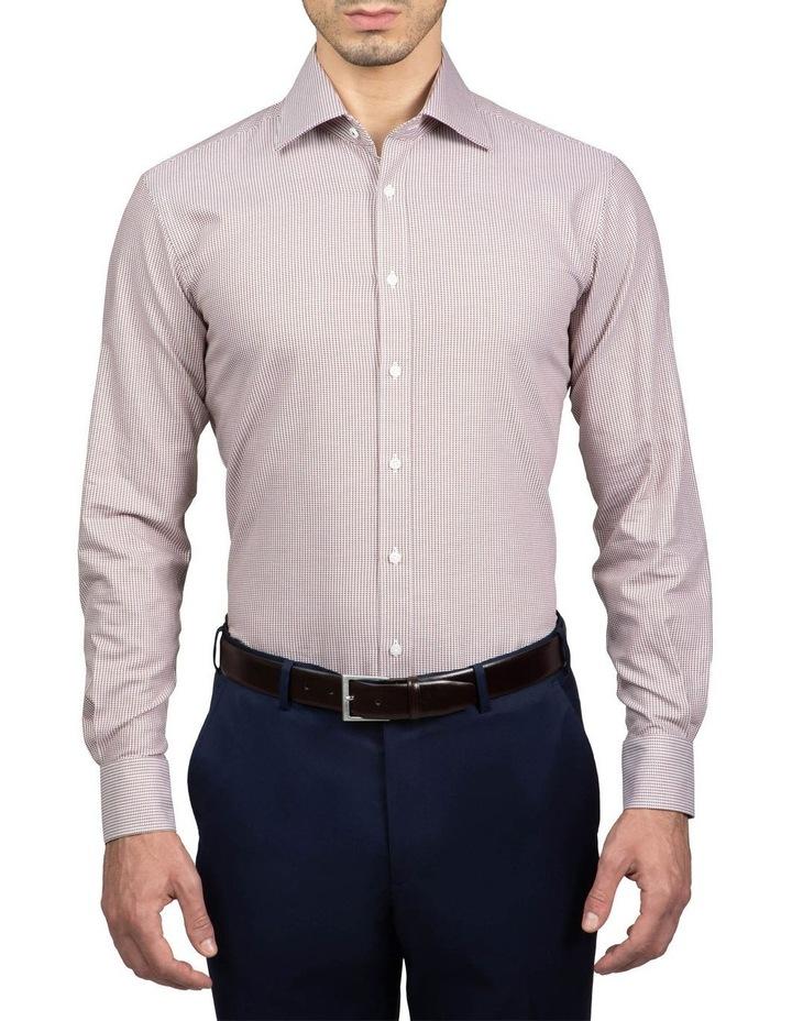 Coffee Tailored Fit Giorgio Shirt image 1