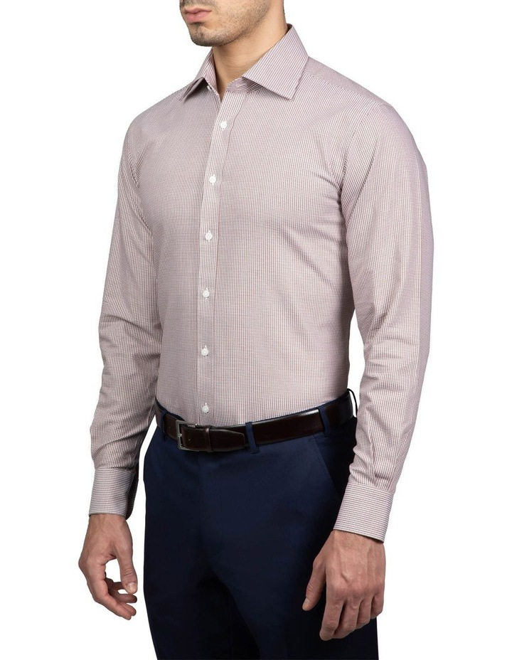 Coffee Tailored Fit Giorgio Shirt image 2