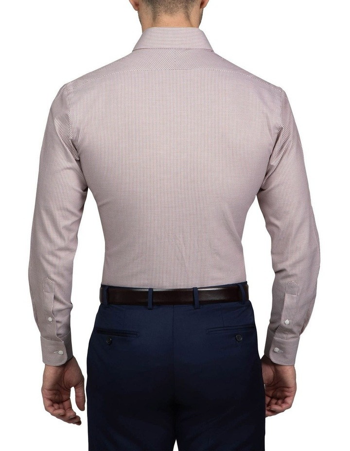 Coffee Tailored Fit Giorgio Shirt image 3