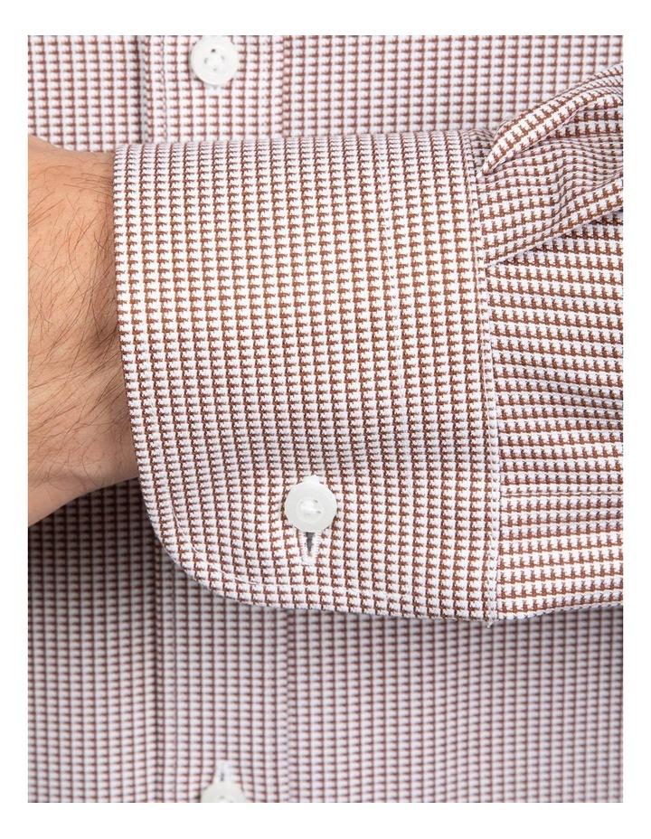 Coffee Tailored Fit Giorgio Shirt image 4