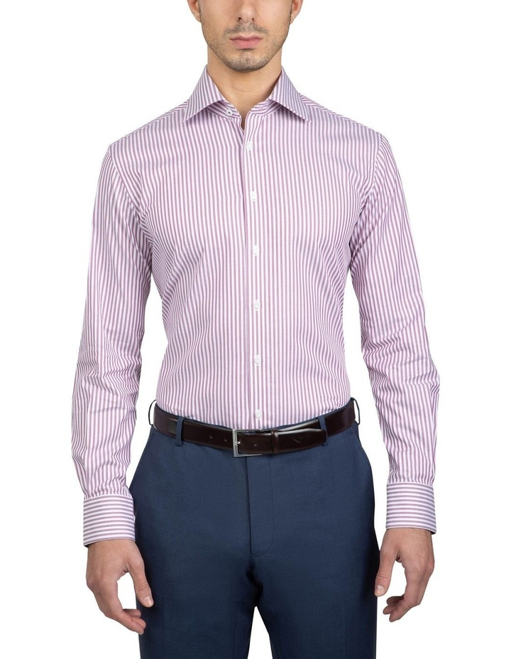 Red Tailored Fit Giorgio Shirt image 1