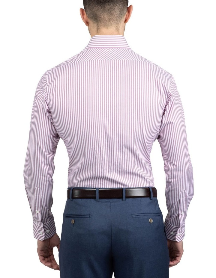Red Tailored Fit Giorgio Shirt image 3