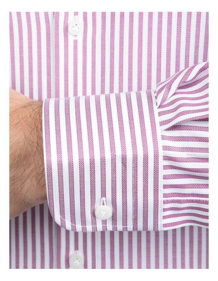 Red Tailored Fit Giorgio Shirt image 4