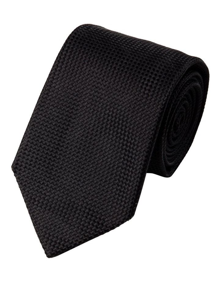 Struttura Silk Tie-Black image 1