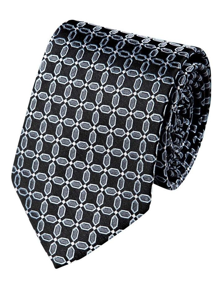 Finestra Silk Tie-Black image 1