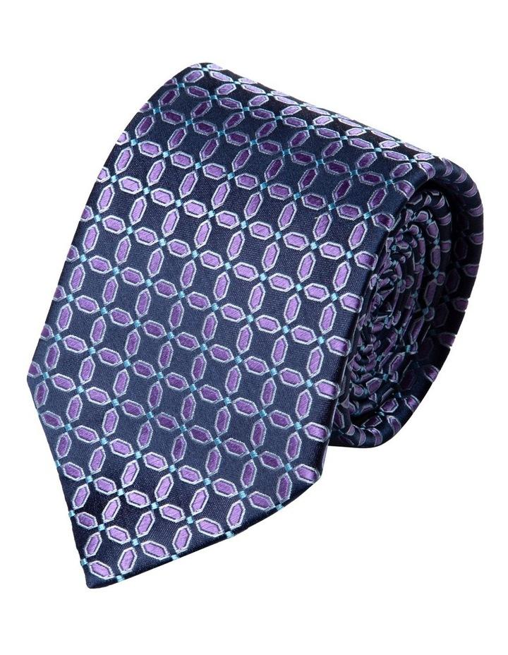 Finestra Silk Tie-Purple image 1