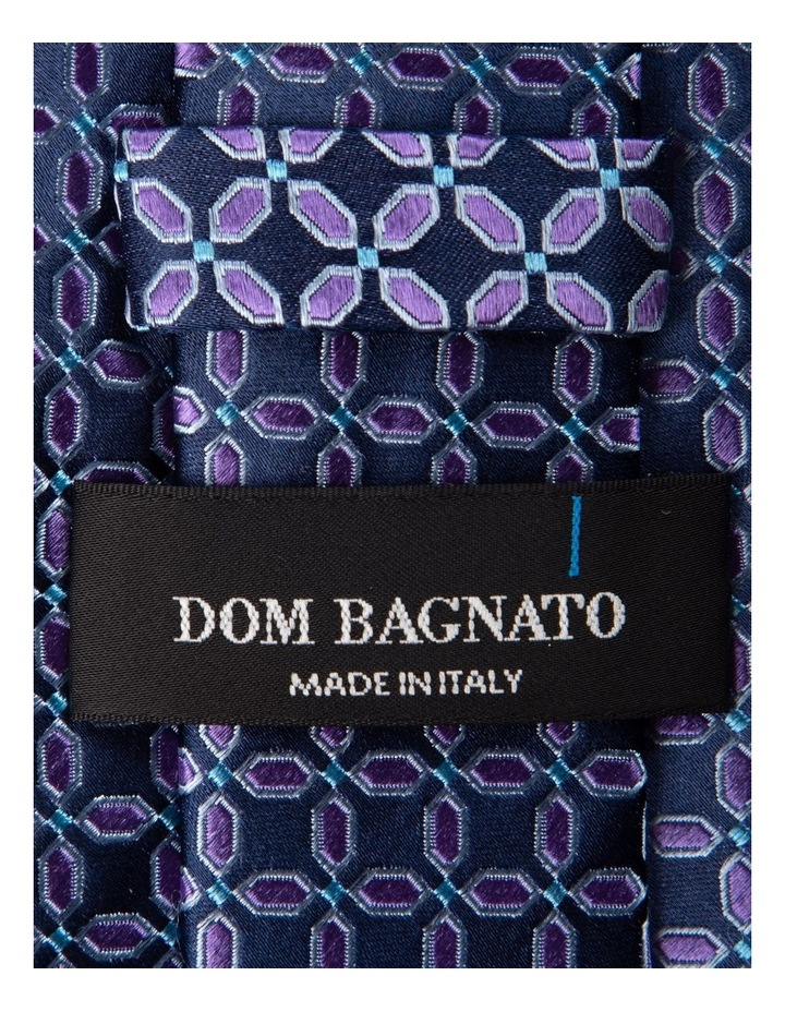 Finestra Silk Tie-Purple image 2