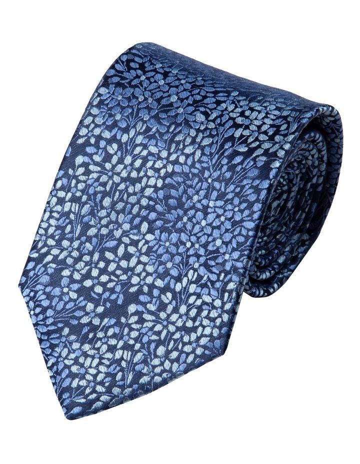Alyssum Silk Tie-Blue image 1