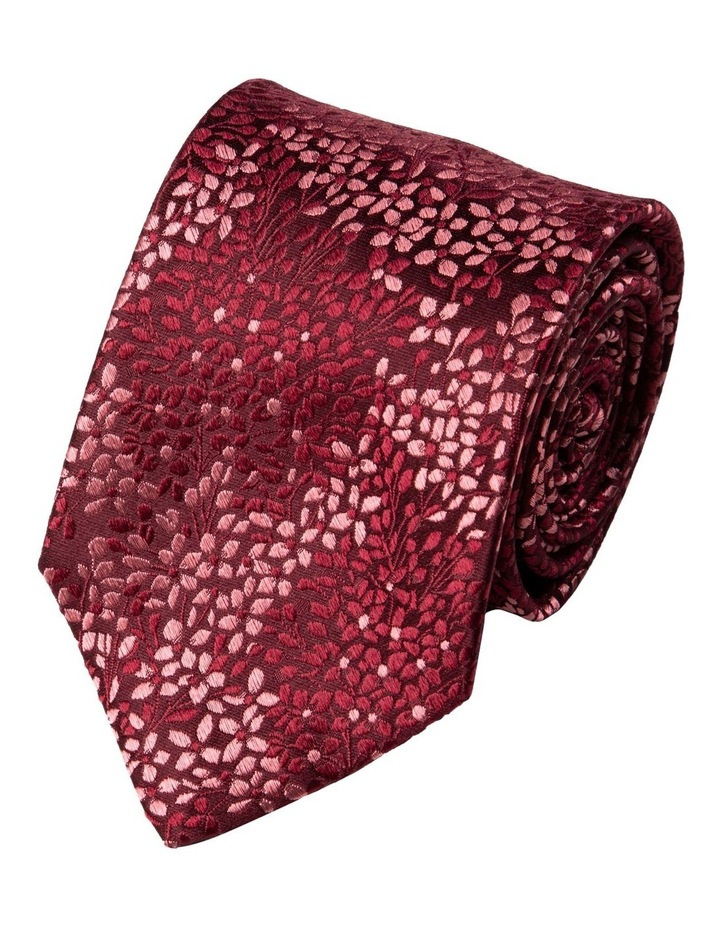 Alyssum Silk Tie-Wine image 1