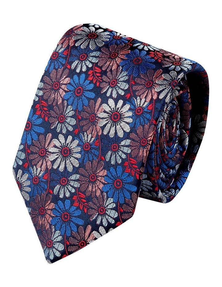 Millefiori Silk Tie-Red image 1