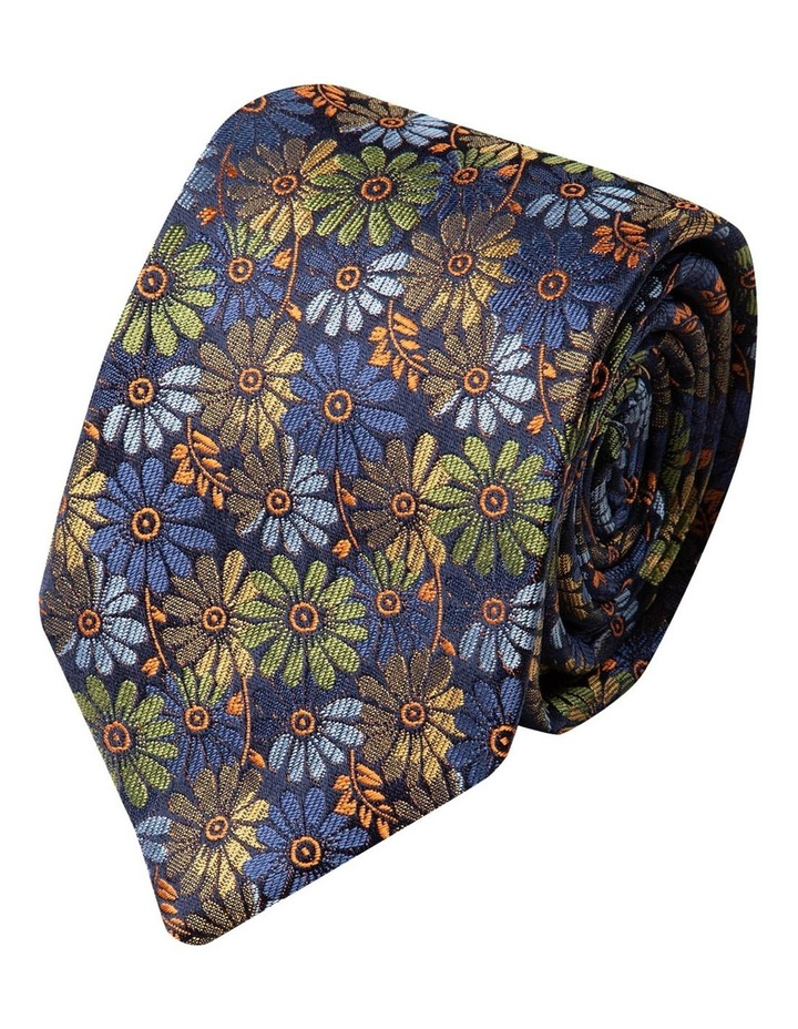 Millefiori Silk Tie-Yellow image 1