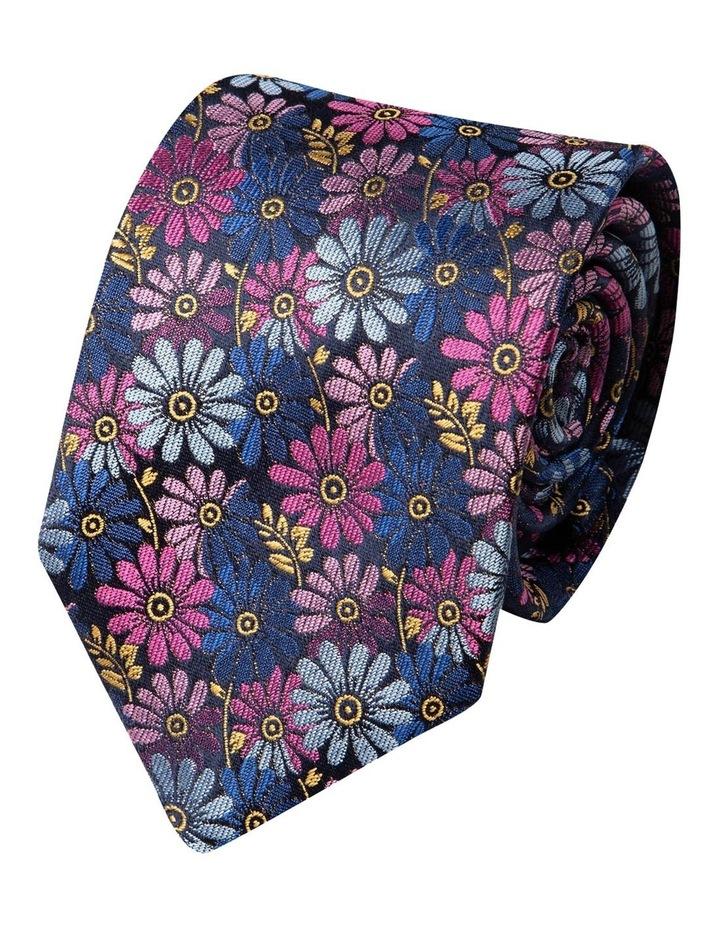 Millefiori Silk Tie-Pink image 1