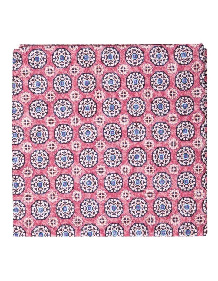 Acqua Fiori Silk Pochette-Pink image 1