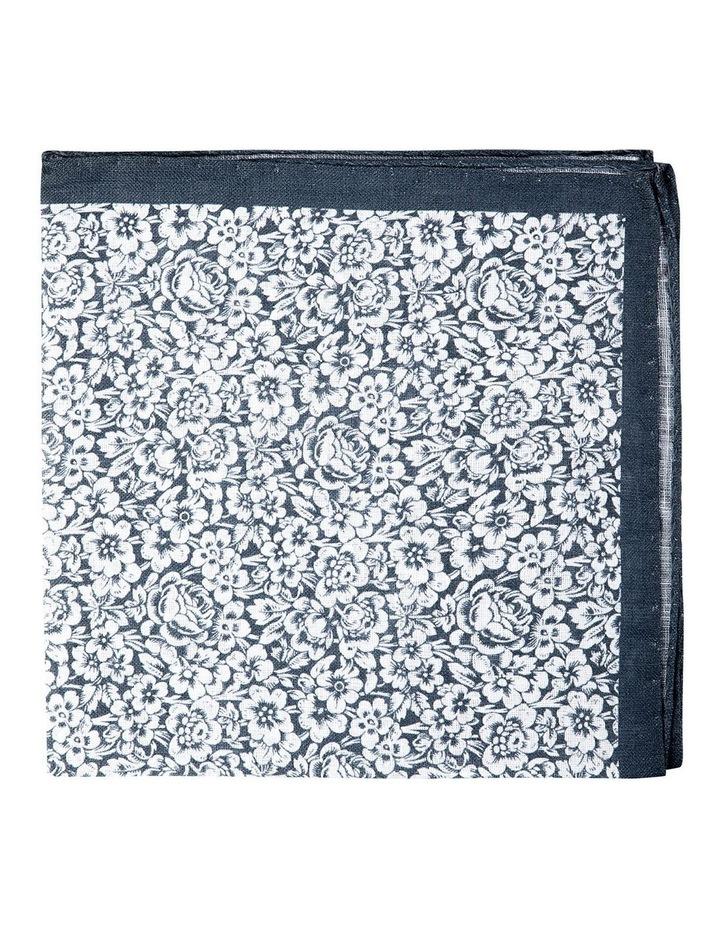 Forget Me Not Linen Pochette-Grey image 1