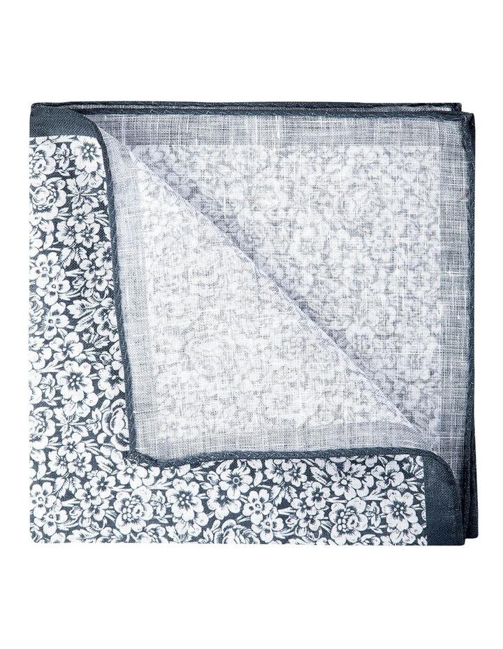 Forget Me Not Linen Pochette-Grey image 2