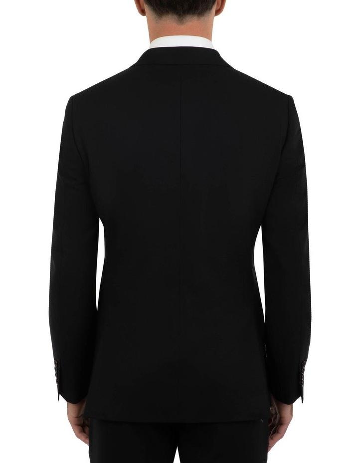 Tailored Fit Stefano Black Wool Jacket FCK410 image 3
