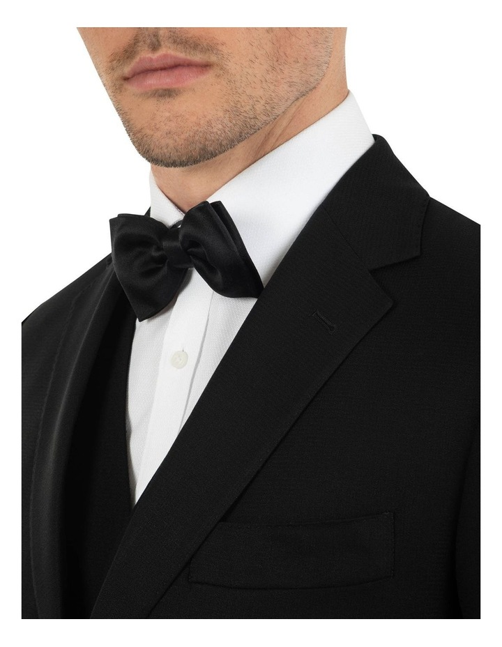 Tailored Fit Stefano Black Wool Jacket FCK410 image 4
