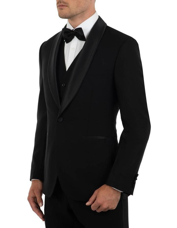 Tailored Fit Giovanni Black Dinner Jacket FCK410 image 2