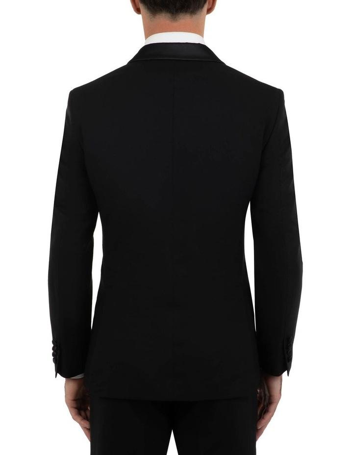 Tailored Fit Giovanni Black Dinner Jacket FCK410 image 3