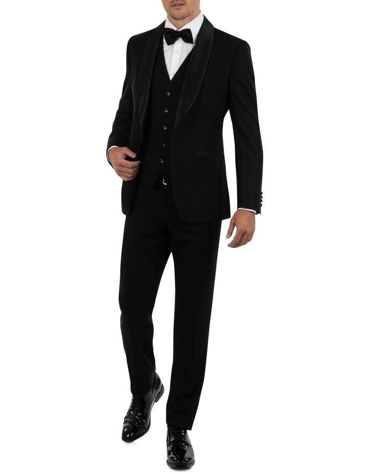 Tailored Fit Giovanni Black Dinner Jacket FCK410 image 4