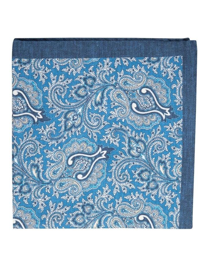 Blue Soft Paisley Pochette image 1