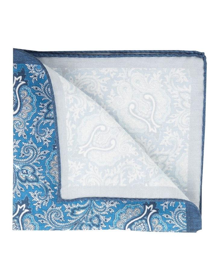 Blue Soft Paisley Pochette image 2