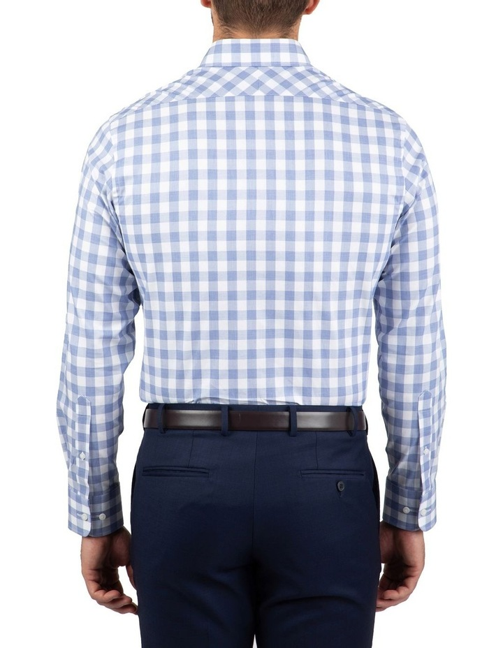 Tailored Fit Blue Giorgio Check Shirt image 3