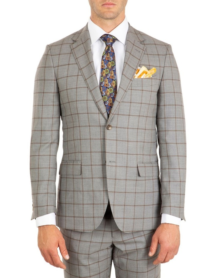 Tailored Fit Stefano Grey Jacket FCJ337 image 1