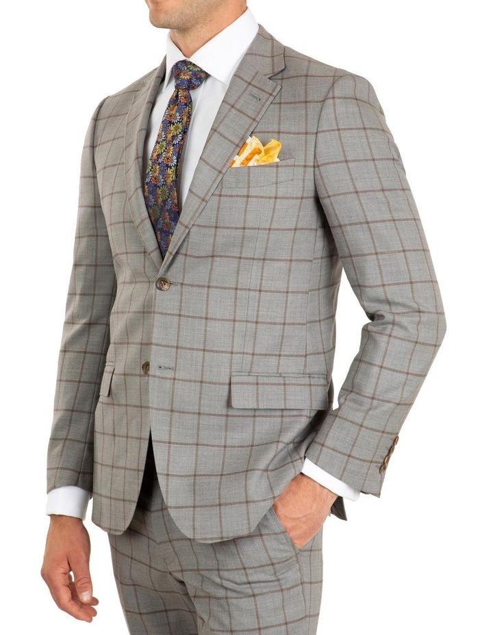 Tailored Fit Stefano Grey Jacket FCJ337 image 2