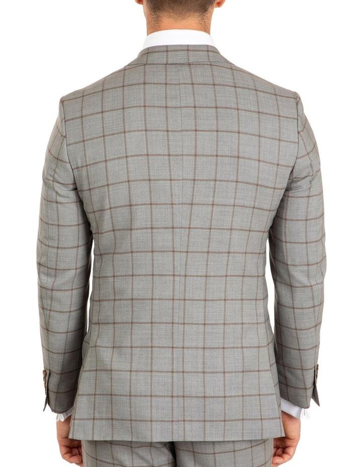 Tailored Fit Stefano Grey Jacket FCJ337 image 3