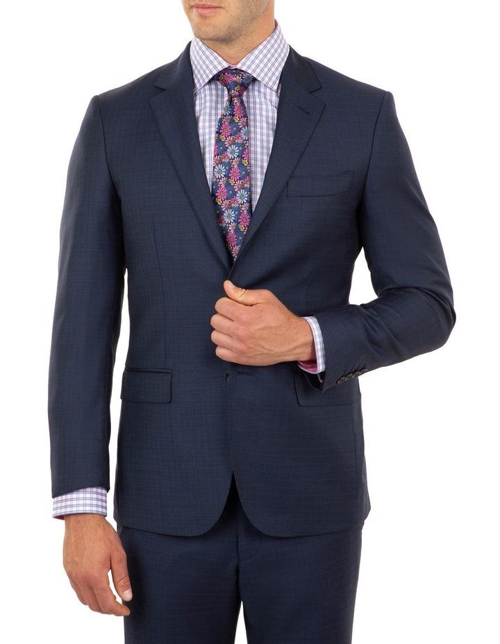 Tailored Fit Stefano Dark Blue Wool Jacket FCJ339 image 1