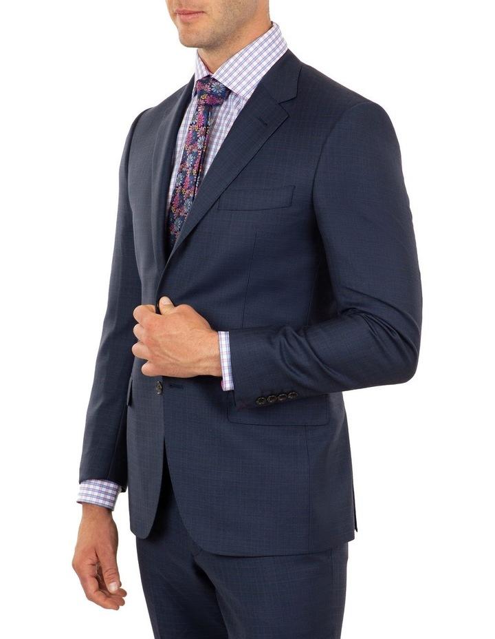 Tailored Fit Stefano Dark Blue Wool Jacket FCJ339 image 2