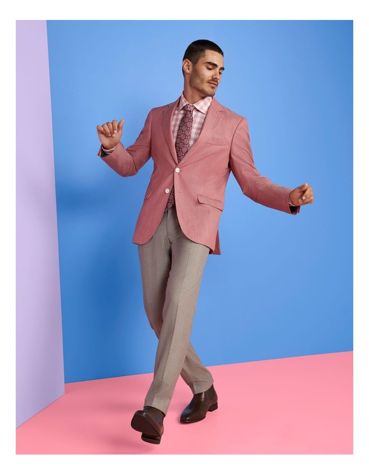 Tailored Fit Angelo Pink Jacket FDK420 image 2