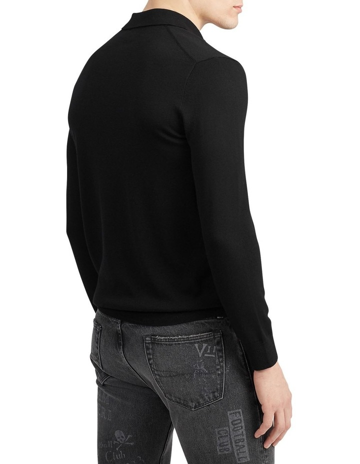 Washable Merino Polo Sweater image 2