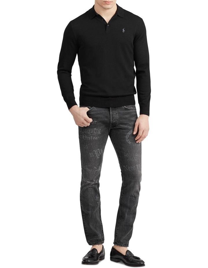 Washable Merino Polo Sweater image 3