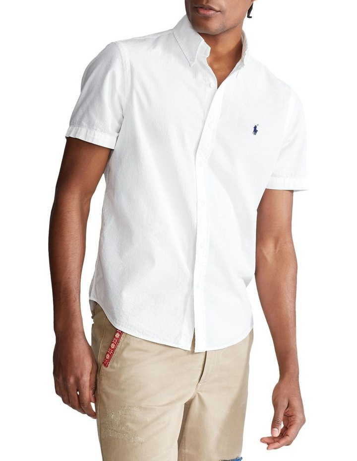 Classic Fit Seersucker Shirt image 1