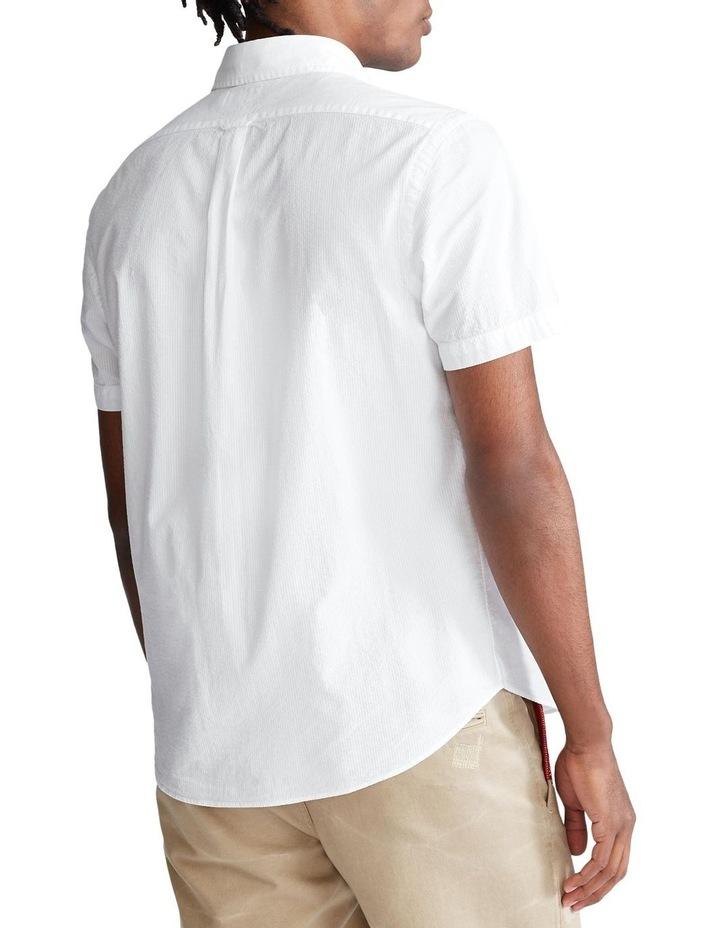 Classic Fit Seersucker Shirt image 2