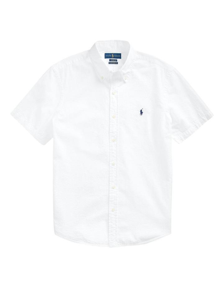 Classic Fit Seersucker Shirt image 4