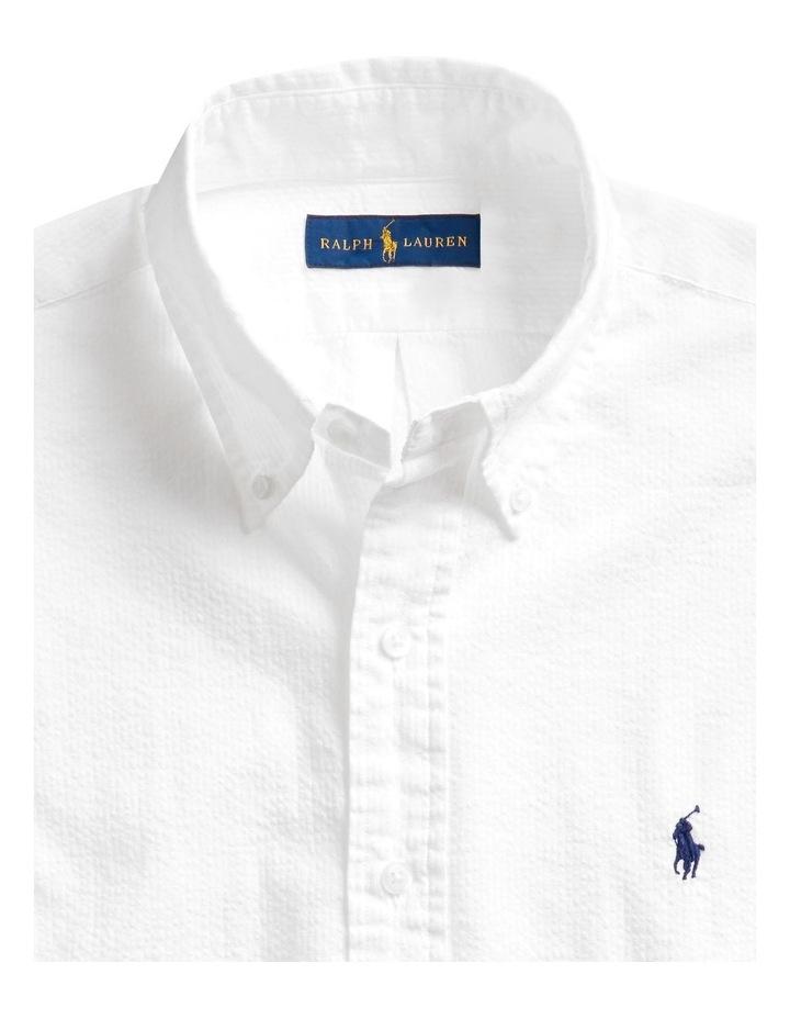 Classic Fit Seersucker Shirt image 5