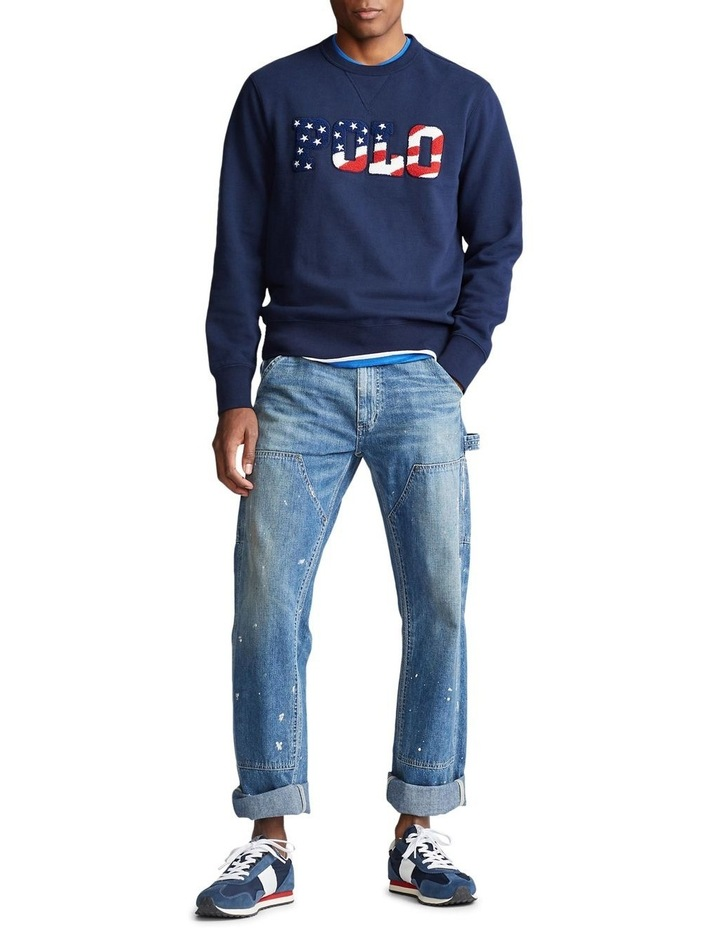 Fleece Graphic Sweatshirt image 3